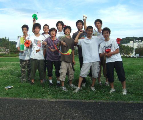 早稲田ジャグリングチームと